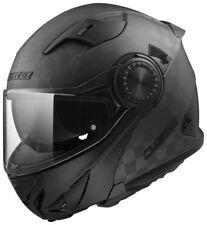 Klapphelm LS2 Ff313 Vortex Solid Carbon Schwarz/matt Gr. L Motorradhelm