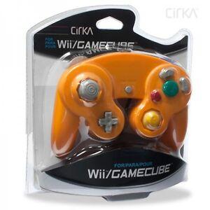 Orange Spice Controller for Nintendo Gamecube/Wii Brand New Retail Cirka Brand