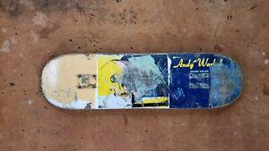 Grant Taylor Andy Warhol Alien Workshop skateboard deck