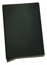Bonn ALUMINUM CREDIT CARD HOLDER -BLACK- Brand New in Box - CyberGuard RFID