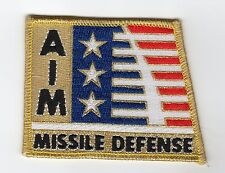 AIM - Annihilate Incoming Missiles - Nat'l Campaign for MD BC Patch Cat No C5426