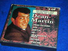 2 CD 1994 DEAN MARTIN memories are made of this RETURN TO ME that's amore SWAY