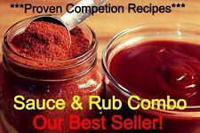 🔥🔥🔥***Proven Competition Bbq Sauce And Rub Recipe Combo***