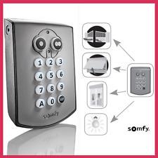 SOMFY - Clavier digicode RTS Sans fil Motorisation Portail Garage Lumière Volet