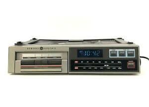 GE Radio General Electric 7-4265A AM/FM Cassette Under Cabinet Serviced
