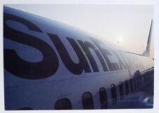 SunExpress Boeing 737-300 Postcard