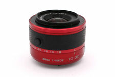 Nikon 1 NIKKOR 10-30mm f/3.5-5.6 AS VR SIC IF Lens For Nikon 1 Camera (Red)
