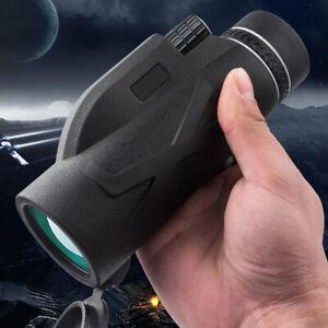 Monocular 80x100 HD Telescope Binocular Night Vision Zoom Hunting Spotting Scope