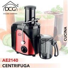 Centrifuga 2 Velocita' 2 Contenitori 600W Frutta Verdura DCG Eltronic AE2140