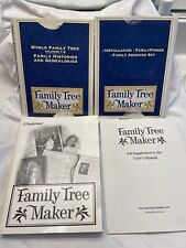 1998 Brøderbund Family Tree Maker 5 10-Cd Set Windows 95 98 Complete