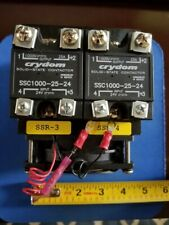 2 Relay Assembly Ssc1000 25 24 Solid State Relay Ssr Contactors 1000v 25a