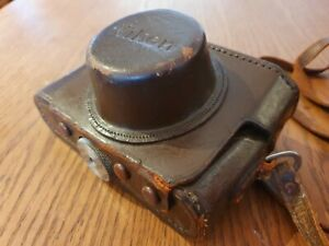 Original Vintage NIKON Nippon Kogaku Rangefinder Camera case