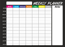 Extra Large A2 Dry Wipe Weekly Planner