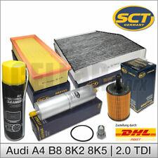 Audi A4 8K A5 2.0 TDI   4-tlg. Filterset, Klimaanlagenreiniger, Ölablaßschraube
