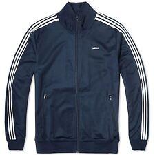 Adidas Originals Beckenbauer Firebird Track Jacke Jacket Herren Retro Rot Blau