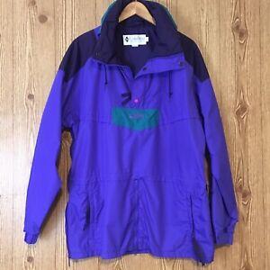 VTG 90s Columbia Sz Large Ski/Snowboard/Winter Pullover Jacket~Radial Sleeve