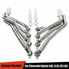"""For Chevrolet Buick 4.8L, 5.3L LS1 LS2 LS3 LS6 LS Swap Longtube Headers 1 3/4"""""""