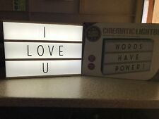 A4 Cinematic LED Light Box LED Sign Party Wedding Messages Home Office Gift
