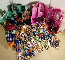 Vtg MOTU LOT 1980's HE-MAN SHE-RA Figures Castles Vehicles Weapons Extras 80pc+