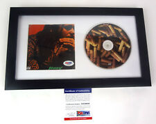 Post Malone Stoney Signed Autograph CD Framed PSA/DNA COA A