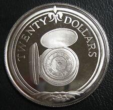 ILES VIERGES BRITANNIQUES - 20 DOLLARS 1985 - Argent - N°5