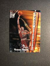 1997-98 TOPPS FINEST MICHAEL JORDAN SHOWSTOPPERS #271 WITH COATING BULLS b