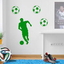 Fußball Figur Player Fußballer Einkerbendes Wand Aufkleber Vinyl Transfer A74