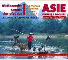 DICTIONNAIRE SONORE DES OISEAUX - ASIE, AUSTRALIE & INDONÉSIE - 2 CD SET NEUF