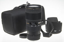 Sigma 70-200mm f/2.8 APO EX DG MACRO HSM II f. Canon +ring +hood +box *excellent