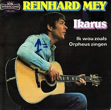 """7"""" Reinhard Mey – Ikarus / Ik wou zoals Orpheus...(holländisch) // Dutch 1976"""