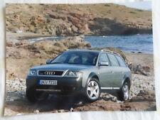 Audi allroad quattro 2.5TDi press photo Feb 2000 v3