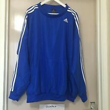 Adidas TS Young Climalite Jumper Track Suit Sweat Shirt Blue Size XL AY2999