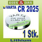 1 Unid. Varta CR 2025 Pilas Pila de botón