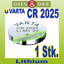1 Stk. Varta CR 2025 Batterie Konpfzelle