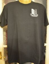 TRIUMPH MOTOR  ON FRUIT OF LOOM HEAVYWEIGHT T-SHIRT MACHINE EMBROIDERED IN UK