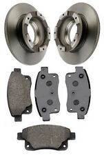 Ford Transit Tourneo 2.2 TDCi Rear Pads & ABS Sensor Ring Brake Discs 1994-2014