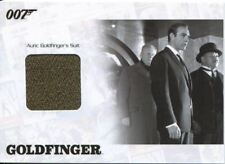 James Bond Archives 2014 Relic Jbr40 Goldfinger Suit