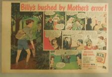 "Kix Cereal Ad: ""Billy's Bushed By Mothers Error ! "" from 1940's 7 x 10 inches"