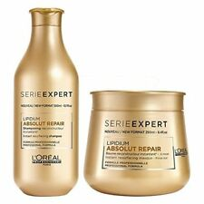 COMBO of L'Oreal Professionnel Lipidium Absolut Repair Shampoo And Masque
