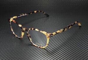 Tom Ford FT5505 053 Blonde Havana Clear Lens Plastic 52 mm Men's Eyeglasses