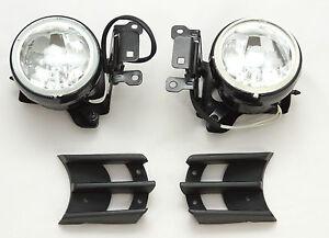 Front Fog lights lamps Set left right Mitsubishi Montero Pajero Sport 2000-2006