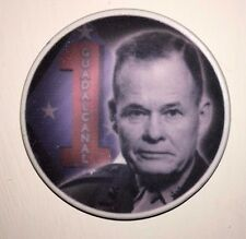 """USMC Marine Corps Lt. General """"Chesty"""" Puller Poker Challenge Chip Coin"""