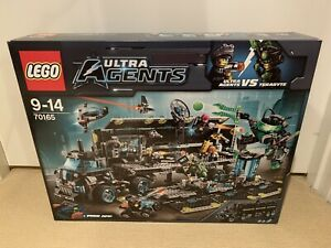 LEGO (70165) Ultra Agents Mission HQ (Retired) Brand New