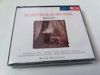 """HEINZ WALLBERG """"MOZART DIE ENTFUHRUNG AUS DEM SERAIL"""" 2CD COMO NUEVO GRUBEROVA"""