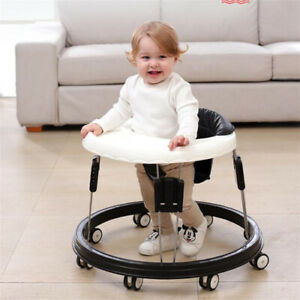 Baby Walker with Wheel Anti-rollover Folding Wheel Walker Multifunctional Seat