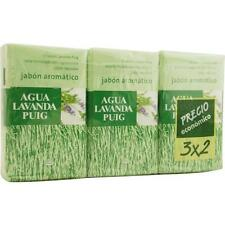Agua Lavanda Puig Set Of 2 Soaps Plus 1 Free And Each Is 4.4 oz