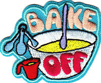 "/""COOKIE SMUGGLER/""  Iron On Embroidered Patch Food,Dessert Baking Treats"
