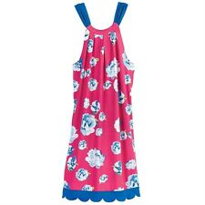 MUD PIE Natalie Bow Tie Sleeveless Dress Pink Floral - Women's Small - NWT