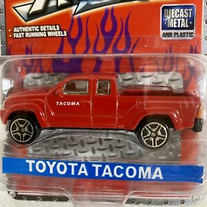 Toyota Tacoma Suntoys L9837 Diecast Pickup Truck ~ 1:64 Red NEW