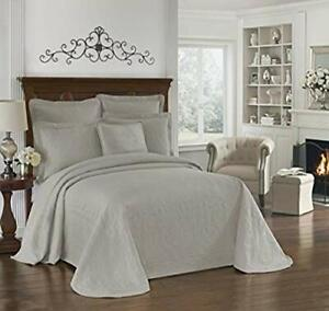 """HISTORIC CHARLESTON Bedspreads Coverlet - King Charles Collection 120"""" x 102""""..."""
